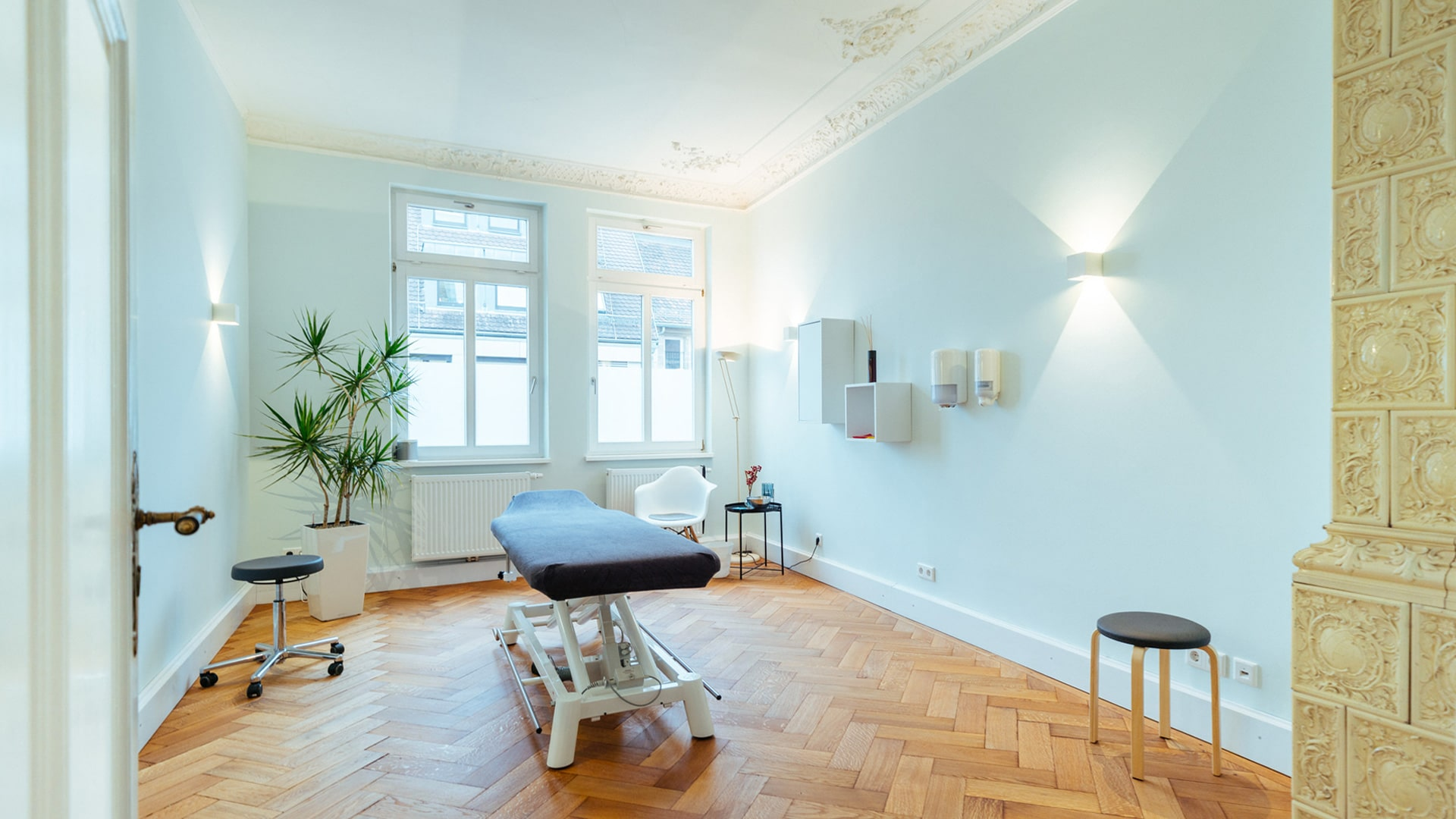 Behandlungsraum physioconcept Physiotherapie Nürnberg